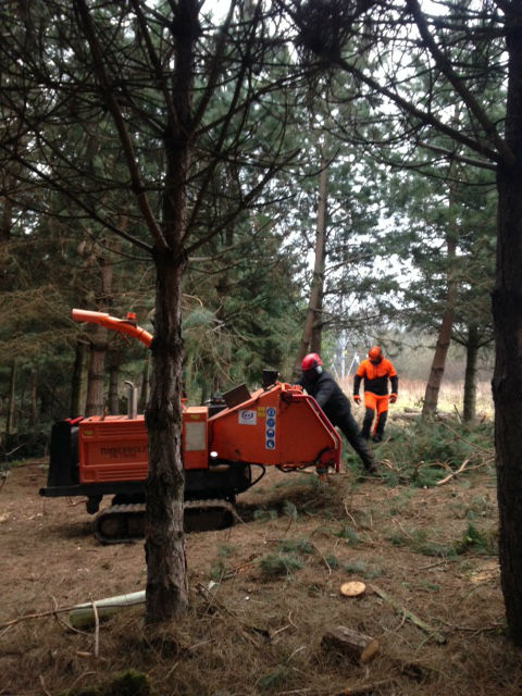 Woodchipper Training Course Nptc